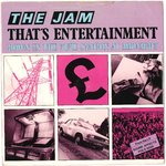"JAM, THE - That's Entertainment - 7"" + P/S (VG/VG+) (M)"