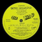 "SEX PISTOLS, THE - C'mon Everybody 7"" (-/EX) (P)"