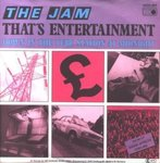 "JAM, THE - That's Entertainment - 7"" + P/S (EX/VG+) (M)"