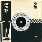 "SPECIALS, THE - Ghost Town - 7"" + C/S (VG+/VG+) (SKA)"