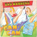 "BAD MANNERS - Can Can - 7"" + P/S (VG+/VG+) (SKA)"