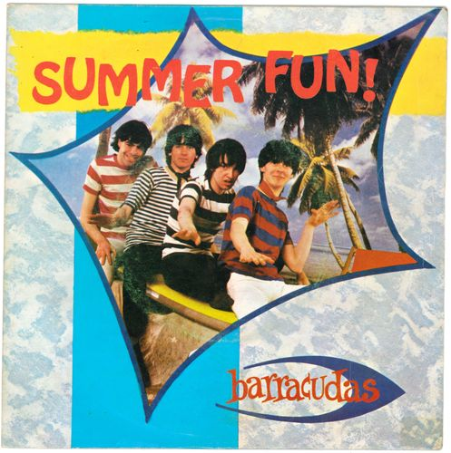 "BARRACUDAS, THE - Summer Fun - 7"" (+ PORTUGUESE P/S) (EX/EX) (M)"