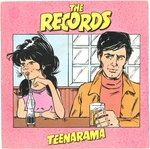 "RECORDS, THE - Teenarama - 7"" + P/S (EX/EX-) (M)"