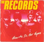 "RECORDS, THE - Hearts In Her Eyes (U.S PROMO) - 7"" + P/S (EX-/EX) (M)"