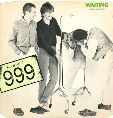 "999 - Waiting 12"" + P/S (EX/EX) (P)"