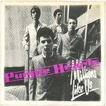 "PURPLE HEARTS, THE - Millions Like Us - 7"" + PS (VG+/VG+) (M)"