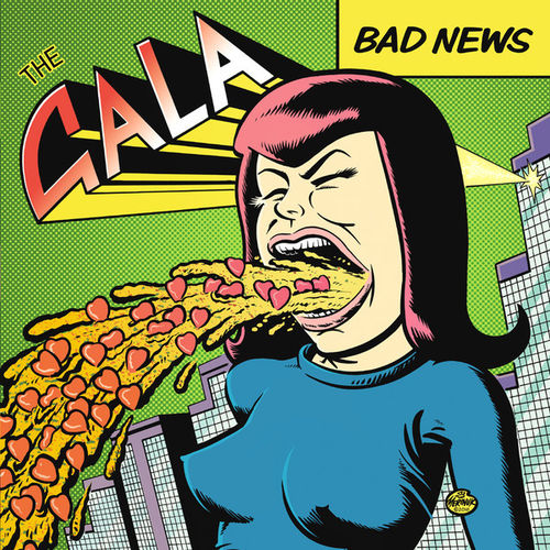GALA, THE - Bad News LP + DOWNLOAD CODE (NEW) (P)