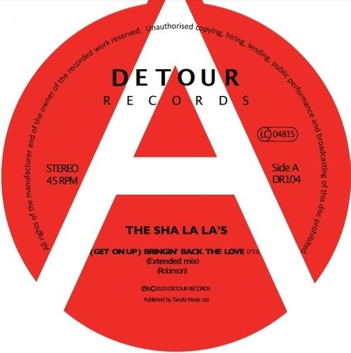 SHA LA LA'S, THE - (Get On Up) Bringin' Back The Love DOWNLOAD