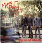 "MERTON PARKAS, THE - You Need Wheels - 7"" + P/S (EX/VG+) (M)"