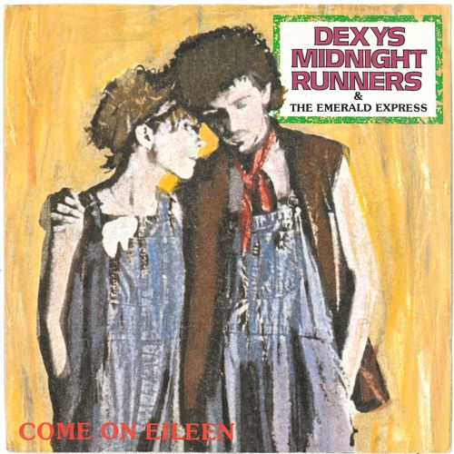 "DEXY'S MIDNIGHT RUNNERS - Come On Eileen - 7"" + P/S (EX/VG+) (M)"