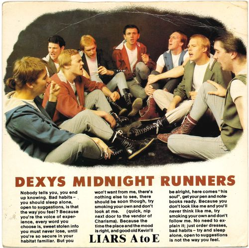 "DEXY'S MIDNIGHT RUNNERS - Liars A to E - 7"" + P/S (VG+/VG+) (M)"