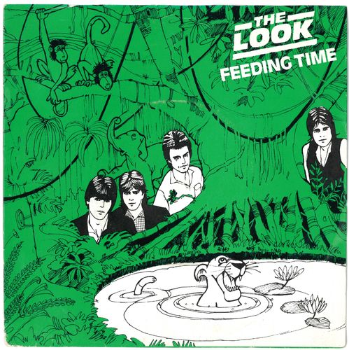 "LOOK, THE - Feeding Time - 7"" + P/S (EX-/EX) (M)"