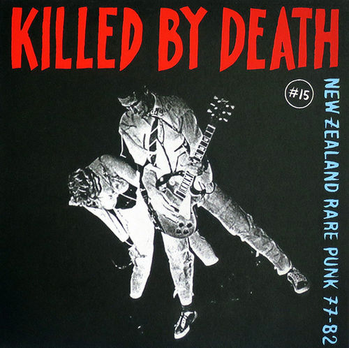 V/A - Killed By Death #15 (New Zealand Rare Punk 77 - 82) LP (NEW) (P)