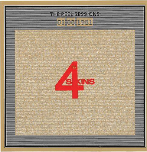 "4-SKINS, THE - The Peel Sessions 01/06/1981 EP 7"" + P/S (NEW) (P)"