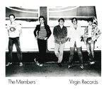 "MEMBERS, THE - 8"" x 10"" PROMO PHOTOGRAPH (EX)"