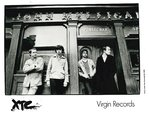 "XTC - 8"" X 10"" Black & White PROMO PHOTO (EX)"