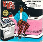 "V.I.P'S, THE - I Need Somebody To Love... - Double 7"" + P/S (VG+/VG+) (M)"