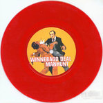 "WINNEBAGO DEAL - Manhunt (RED VINYL) 7"" (-/EX) (P)"