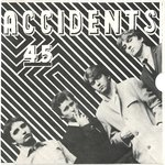"ACCIDENTS, THE - Blood Spattered With Guitars 7"" + P/S (EX-/EX-) (M)"