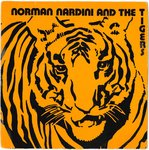 "NORMAN NARDINI AND THE TIGERS - Burnin' Up - 7"" + P/S (VG+/VG) (SKA)"