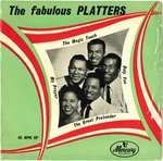 "PLATTERS, THE - The Fabulous Platters EP 7"" + P/S (VG+/VG) (M)"