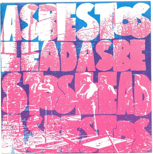 "WORLD DOMINATION ENTERPRISES - Asbestos Lead Asbestos 7"" + P/S (EX/EX) (P)"