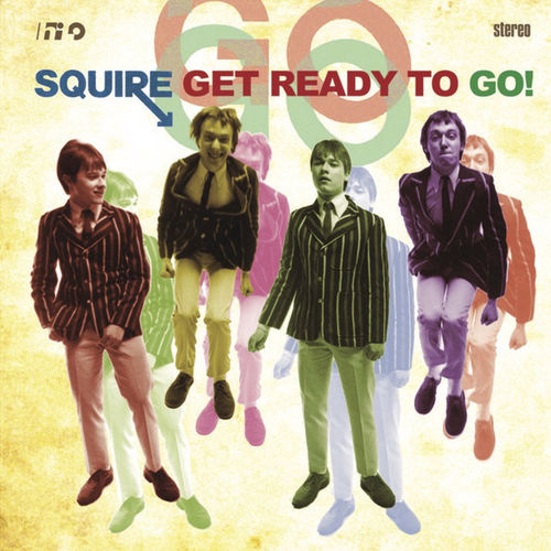 SQUIRE - Get Ready To Go (BLACK VINYL) LP (NEW) (M)