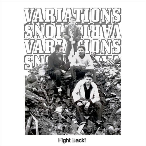 VARIATIONS, THE - Fight Back! (COLOURED VINYL) LP+CD+DL CODE (NEW)
