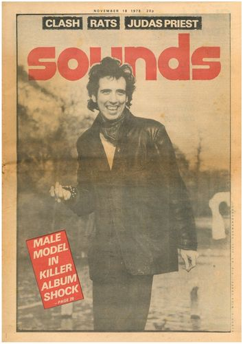 SOUNDS - 18th November 1978 MUSIC PAPER (EX)