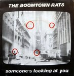 "BOOMTOWN RATS, THE - Someone's Looking At You 7"" (+ FRENCH P/S) (EX/EX) (P)"