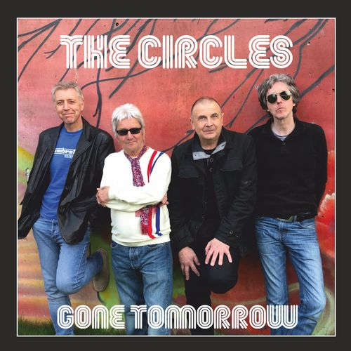 "CIRCLES, THE - Gone Tomorrow (BLACK VINYL) EP 12"" + P/S (NEW)"