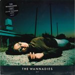 "WANNADIES, THE - Hit (Blue Vinyl) 7"" + P/S (EX/EX-) (M)"