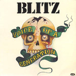 BLITZ - Voice Of A Generation LP (VG/VG) (P)