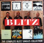 BLITZ - The Complete Blitz Singles Collection LP (EX/EX) (P)
