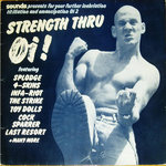 V/A - Strength Thru Oi! - LP (VG+/VG-) (P)