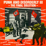V/A - Punk And Disorderly III : The Final Solution (SPLATTERED VINYL) LP (EX-/EX) (P)