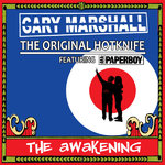 GARY MARSHALL Featuring AKA PAPERBOY ‎– The Awakening (BROWN SPLATTERED) LP (NEW) (M)