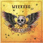 "CITY SAINTS - Weekend E.P (SILVER VINYL) - 7"" + P/S (NEW) (P)"