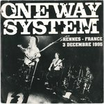 "ONE WAY SYSTEM - Live In Rennes 95 E.P - 7"" + P/S (EX/EX) (P)"