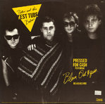 "PETER & THE TEST TUBE BABIES / THE FITS - Pressed For Ca$h (REHASHED MIX) - 12"" + P/S (VG+/EX-) (P)"