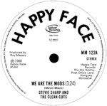 "STEVIE SHARP AND THE CLEAN CUTS - We Are The Mods (PICTURE DISC) 7"" (NEW) <<< PLEASE READ BELOW >>>"