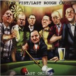 GIMP FIST / LAST ROUGH CAUSE ‎– Last Orders (RED VINYL) LP (EX/EX) (P)