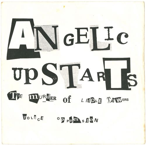 "ANGELIC UPSTARTS - The Murder Of Liddle Towers - 7"" + P/S (VG+/EX) (P)"
