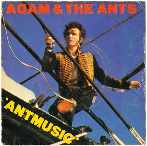 "ADAM AND THE ANTS - Antmusic - 7"" + P/S (VG-/VG-) (P)"