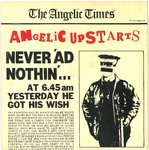 "ANGELIC UPSTARTS - Never 'Ad Nothin' - 7"" + P/S (EX/EX) (P)"