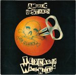 "ANGELIC UPSTARTS - Teenage Warning - 7"" + P/S (EX/EX) (P)"
