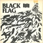 "BLACK FLAG - Six Pack - 7"" (VG+/EX) (P)"