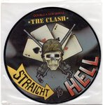 "CLASH, THE - Straight To Hell (PICTURE DISC) - 7"" (-/EX) (P)"
