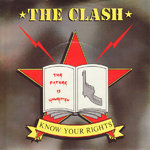 "CLASH, THE - Know Your Rights (+ STICKER) - 7"" + P/S (EX-/EX) (P)"
