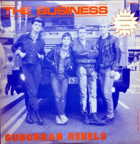 BUSINESS, THE - Suburban Rebels / Smash The Discos : Back To Back #2 DLP (EX/VG+/VG) (P)